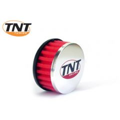 TNT Air filter, R-Box, Red, Attachment Ø 28/35mm, Straight