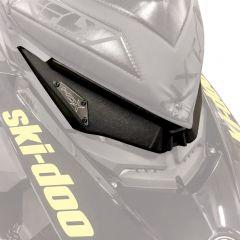 Skinz Headlight Delete Kit Black Ski-Doo 850 Rev 4