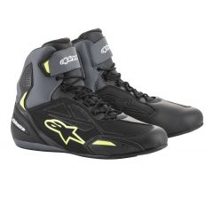*Alpinestars Shoe Faster-3 Drystar Black/Yellow fluo