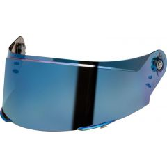 Schuberth SR2 blue mirrored visor, AF ready
