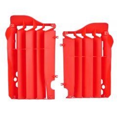 Polisport radiator louvers CRF250R 14-15 röd