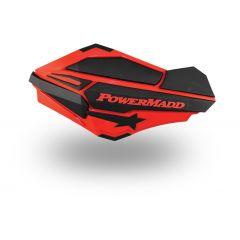 Sentinel Handguards, Red/Black-Polaris