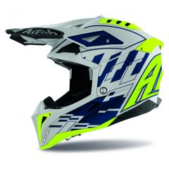 Airoh Helmet Aviator 3 Rampage blue gloss