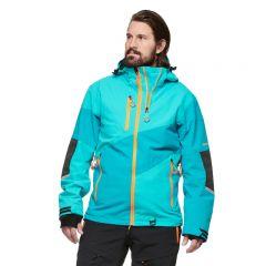 Sweep Freeride Evo Snowmobile Jacket, Green-Blue