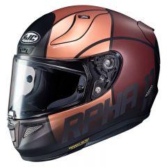 HJC Helmet RPHA 11 Quintain Brun/Yellowd MC9SF