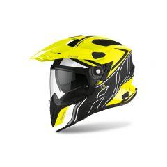 Airoh Helmet Commander Duo yellow Matt