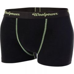 Woolpower Boxer Ms Merino base layer Black