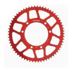 Supersprox Rear sprocket, 62, Ø105mm, Red, Derbi / Aprilia / Yamaha RAL-1131 z62 Red