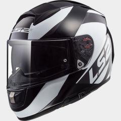 LS2 Helmet FF397 TRIDENT Wavy black titanium white