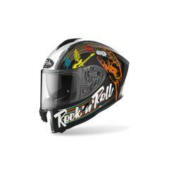 Airoh Helmet SPARK Rockn roll black gloss
