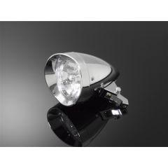 Highway Hawk Headlight Starlight Chrome 68-118