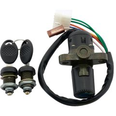 Ignition switch & Lock set, Derbi Senda -03