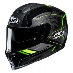 HJC Helmet RPHA 70 Coptic Black/FluoYellow MC4H