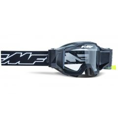 FMF POWERBOMB Film System Goggle Rocket Black - Clear Lens