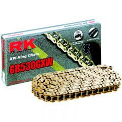 RK GB530GXW XW-ringchain Gold +CLF(rivet l.) GB530GXW-120+CLF