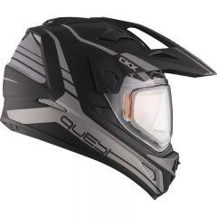 CKX Helmet QUEST RSV Straightline with electric visor Matt grey