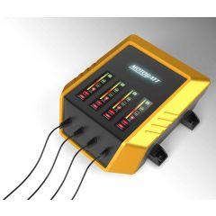 Motobatt 4-Bank 9 step charger 12V 2,0 Amp