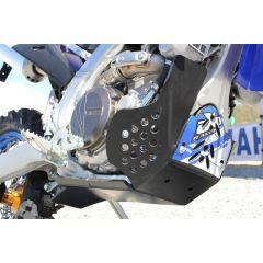 AXP Xtrem HDPE Skid Plate Black Yamaha WR250F 15-, WR450F 16-18 AX1427