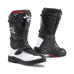 TCX MX Boot COMP Junior Black/White