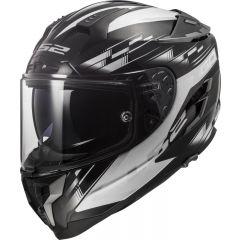 LS2 Helmet FF327 Challenger GP Black White