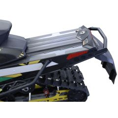 "Skinz Rear Bumper Black 2008- Ski Doo Rev XP / XS  Renegade 120""/137"" SDRB200-BK"