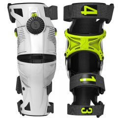 Mobius X8 knee brace white/yellow