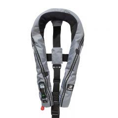 Baltic Compact 100 auto inflatable lifejacket grey 30-110kg