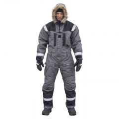 SnowPeople Iceware Pro overall grey/black