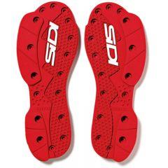 Sidi SMS Supermoto sole pair red 47-48