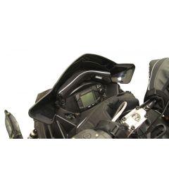 Skinz Windshield Pak Black Polaris Pro Ride with 35cm high windshield