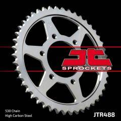 Rear sprocket 488-38 C45. Chain 50/530