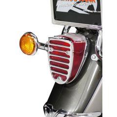 Highway Hawk taillight grill 662-114