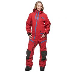 Sweep Backcountry Ladies Coverall, Red