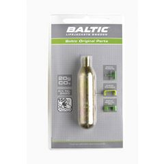 Baltic CO2-cylinder 20g w. safety indicators