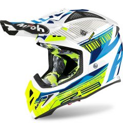 Airoh Helmet Aviator 2.3 AMS2 Novak yellow chrome