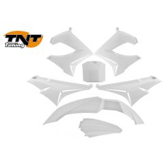TNT Bodywork kit, White, Derbi Senda 00-08
