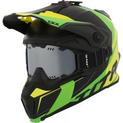 CKX Helmet Titan Cliff Yellow/Green with goggle