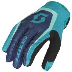 Scott  Glove 350 Dirt blue/blue