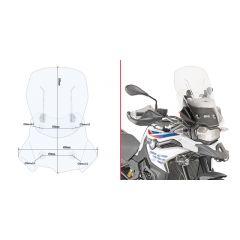 Givi Specific fitting kit for D5127S, D5127ST, AF5127 BMW F 750 GS (18-19)