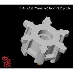 "Avid Sprocketpair AC/Yamaha 3,5"" 6 teeth"