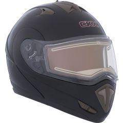 CKX Helmet TRANZ E with electric visor Matt black