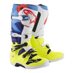 Alpinestars Boot Tech 7 Fluo Yellow/White/Blue