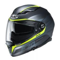HJC Helmet F70 Feron Yellow MC4HSF