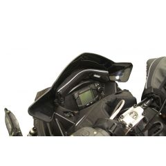 Skinz Windshield Pak Black Polaris Pro Ride with 35cm high windshield