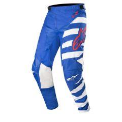 Alpinestars pants Racer Braap, blue/white/red