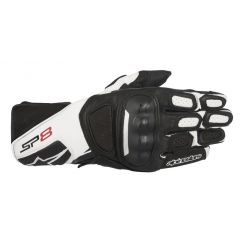Alpinestars Glove SP-8 V2 black/white/fluo yellow