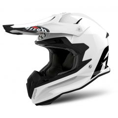 Airoh Helmet Terminator Open Vision white gloss
