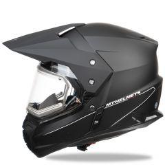 MT Duo Sport, matt black, with electric visor