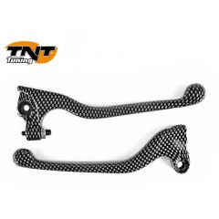 TNT Lever set, Carbon-style, Derbi Senda