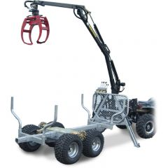 ATV GRAPPLE CRANE 350-II Hydraulic Roll drive & Winch GRAPPLE CRANE 350-II HYD. DRIVE & WINCH
